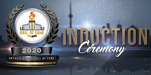 2020 Ontario Boxing Hall of Fame Induction