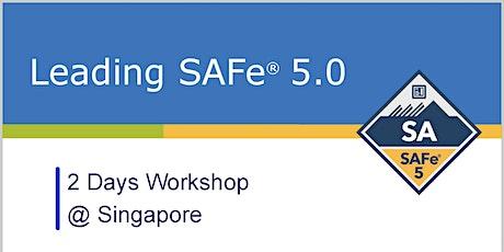 Leading SAFe® 5.0 (Scaled Agile Framework) with SAFe® Agilist (SA) Certification - Singapore tickets