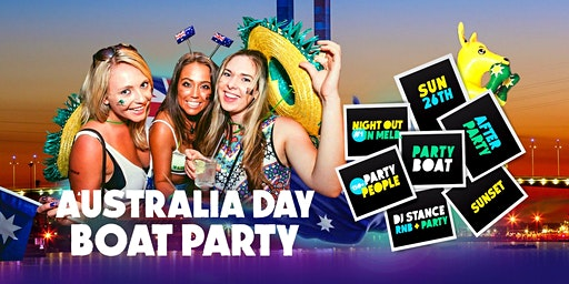 Australia Day Boat Party [Melbourne 2020]