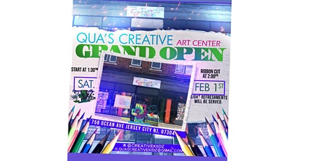 Qua's Creative Art Center Grand opening! tickets