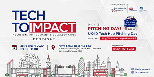 TECHTOIMPACT - PITCHING DAY DENPASAR