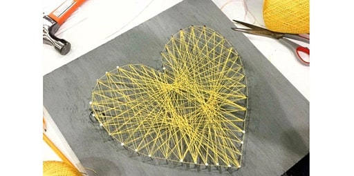 Wood & Wine Wednesdays- DIY String Art & Wine Package Deal (01-29-2020 starts at 6:30 PM)