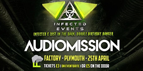 Infected & Lost In The Dark Double Birthday Banger tickets