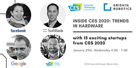 Inside CES 2020: Trends in Hardware tickets