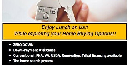 Buy a Home in Today's market.. it's easy as 1-2-3 !! Enjoy lunch on us!!