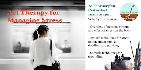 Art Therapy for Managing Stress tickets