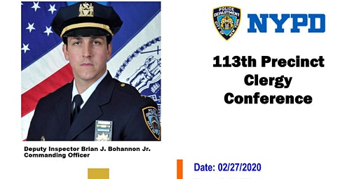 113th Precinct Clergy Conference