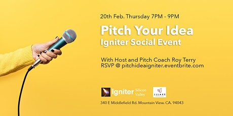 Pitch Your Idea - Igniter Social tickets