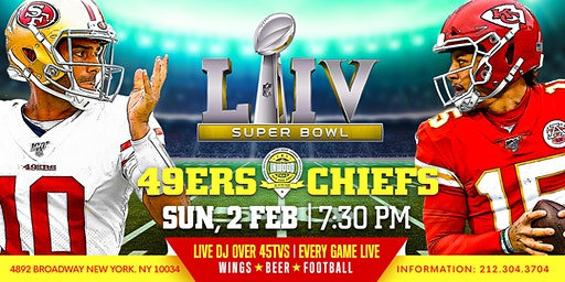 SUPER BOWL   AT  THE BEST SPORTS BAR  INWOOD BAR AND GRILL- UPPER MANHATTAN