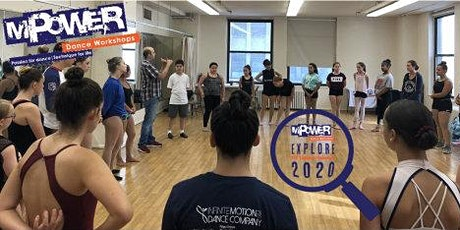 EXPLORE MPower Dance Workshops 2020 NYC Summer Intensive tickets