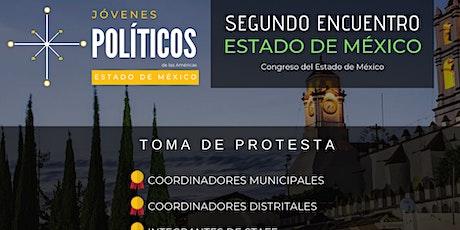 RED DE JOVENES POLITICOS DE LAS AMERICAS, ESTADO DE MÉXICO boletos