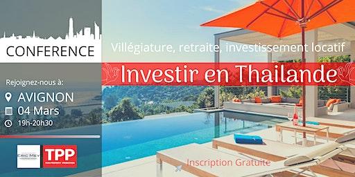 AVIGNON - Conférence: Immobilier et Vie en Thaïlande