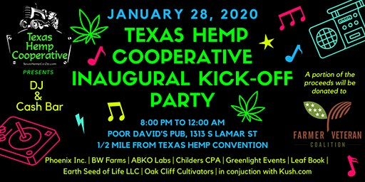 Texas Hemp Cooperative After Party