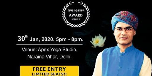 Free Mass SOUND Healing & Nada Yoga Seminar by Nada Yogi Rivesh Vade