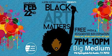 """3rd Annual """"Black Art Matters"""" Art Show & Fundraiser tickets"""