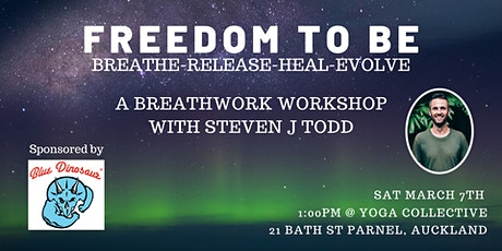 Freedom To Be Breathwork workshop Auckland tickets