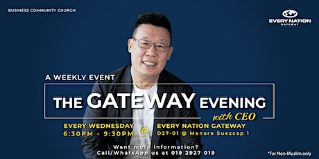 The Gateway Evening with CEO tickets