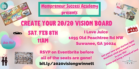 Create Your 20/20 Vision Board - Gwinnett tickets