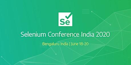 Selenium Conf India 2020 tickets