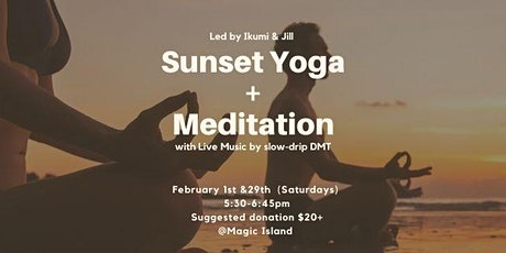 Sunset Yoga & Meditation with LIVE MUSIC tickets