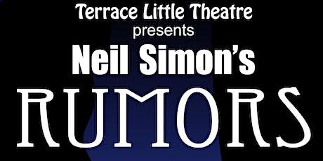Rumors by Neil Simon tickets