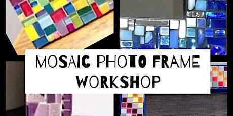 Mosaic Monday Photo Frame Workshop tickets