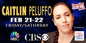 Comedian Caitlin Peluffo-  Seen on CBS's  The Late...