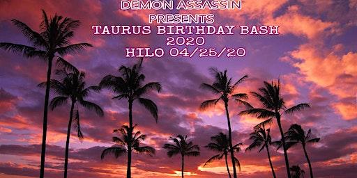 Taurus Birthday Bash 2020 Hilo