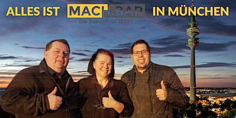Alles ist MACH.BAR in München Tickets