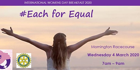 Rotary International Women's Day Breakfast 2020 tickets