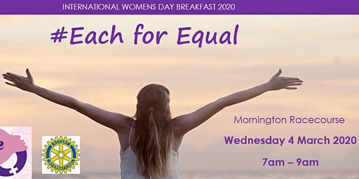 Rotary International Women's Day Breakfast 2020