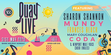 QUAY LIVE - feat. Sharon Shannon, Munday and many more tickets