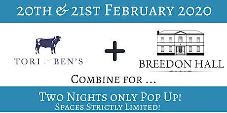 Breedon Hall Pop Up 20 & 21 Feb 2020 tickets