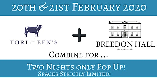 Breedon Hall Pop Up 20 & 21 Feb 2020