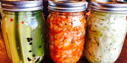 Pickling, Canning & Fermentation Workshop