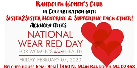 Wear Red Day in Randolph MA tickets