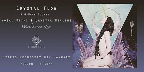 Crystal Flow: Yoga, Reiki & Crystal Healing (Blue Lace Agate) tickets