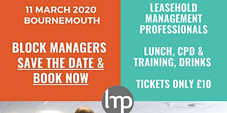 The LMP Bournemouth Spring Event tickets