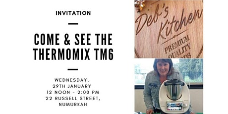 Come and See THE THERMOMIX TM6 tickets