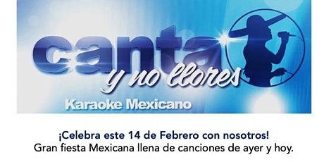 Fiesta Mexicana - Canta y no llores... karaoke Barcelona entradas