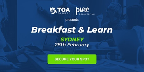 BREAKFAST AND LEARN | SYDNEY tickets