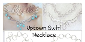 Uptown Swirl Wire Necklace - Jewelry Making