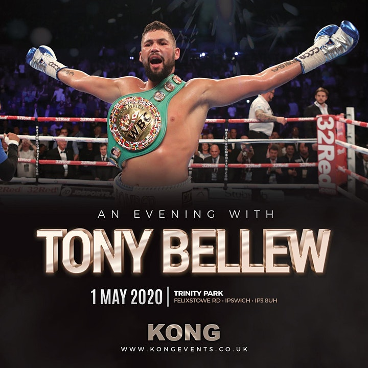 An Evening With Tony Bellew image