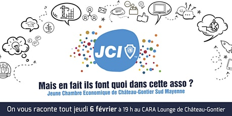 Soirée découverte de la Jeune Chambre Economique Sud Mayenne billets