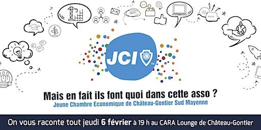 Soirée découverte de la Jeune Chambre Economique Sud Mayenne
