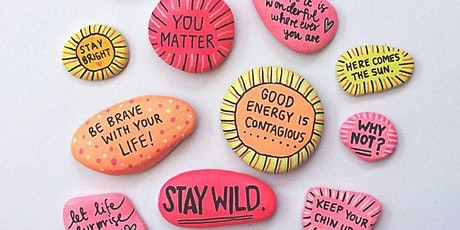 Pebble & Rock Art for Wellbeing - A Well Woman Network Event tickets