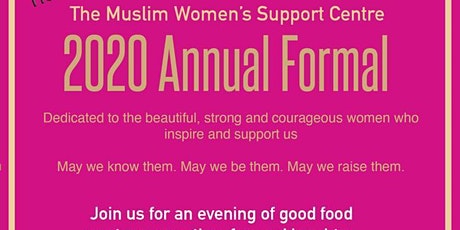 MWSC Annual Formal 2020 tickets