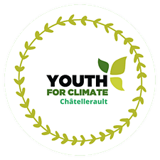 Youth For Climate Châtellerault logo