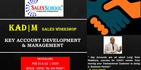 KAD Key Account Development For Sales Professionals tickets