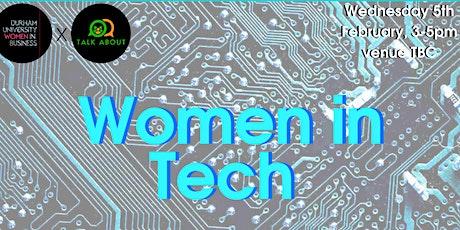 Women in Tech tickets